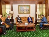 كرم جبر يبحث مع وزير الدولة الليبى للاتصال تطوير التعاون الإعلامى بين البلدين