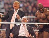 ترامب وحلبة المصارعة.. قصة عشق ستعود فى 11 سبتمبر.. فيديو