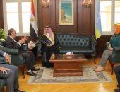 محافظ الإسكندرية يستقبل قنصل عام السعودية لبحث سبل تعزيز التعاون بين الجانبين