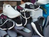 ضبط 500 حذاء مقلد وربع طن مبيدات زراعية منتهية الصلاحية بالبياضية فى الأقصر