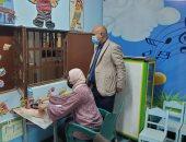 """وكيل """"صحة الغربية"""" يتفقد مراكز تطعيم المواطنين بلقاح فيروس كورونا"""