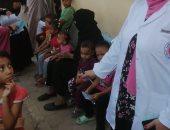 الكشف على 727 مواطنا فى قافلة طبية مجانية بقرية القلمينا بالوقف قنا.. صور