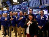 العاملون فى بورصة نيويورك يقفون دقيقة صمت فى ذكرى هجمات 11 سبتمبر