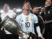"""ميسى عن تتويج الأرجنتين بكوبا أمريكا: """"حلمت كثيرا بهذا اليوم والحمد لله تحقق"""""""