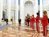 بوتين يكرم الرياضيين الحائزين على الميداليات الذهبية الروسية في طوكيو