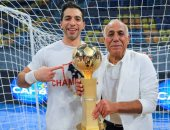 أسطورة يد الزمالك أحمد الأحمر: الحمد لله على كأس السوبر والوصول لكأس العالم