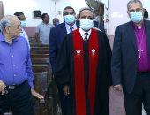 رئيس الكنيسة الإنجيلية يشارك فى حفل تنصيب راعٍ لكنيسة أرض شريف بشبرا مصر