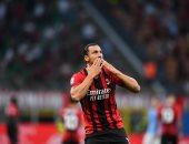 إبراهيموفيتش يعود إلى ميلان ضد أتلتيكو مدريد فى دورى أبطال أوروبا