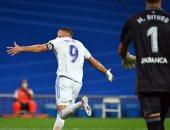"""الريال ضد سيلتا فيجو.. بنزيما يسجل هدف الملكى الثانى والنتيجة 2 - 2 """"فيديو"""""""