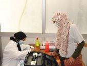 جامعة حلوان: تطعيم 60 ألف عضو بهيئة التدريس والإداريين والطلاب ضد كورونا