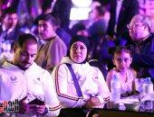 صور.. تكريم أبطال البارالمبية خلال حفل تحت سفح الأهرامات