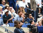 رامي مالك وبراد بيت وبرادلي كوبر في بطولة أمريكا المفتوحة للتنس.. صور