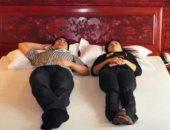 ابتكره صينى.. سرير ينقذ النائم عليه من الخطر حال وقوع زلزال (فيديو)
