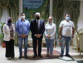 محافظ جنوب سيناء يستقبل نقيب عام التمريض في مكتبه بشرم الشيخ