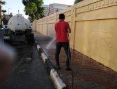 الأقصر تستكمل حملات النظافة والتجميل وترفع 25 طن تراكمات ومخلفات من الشوارع