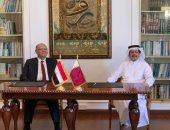 لجنة المتابعة المصرية القطرية تنعقد فى الدوحة والتوقيع على عدد من مذكرات التفاهم