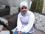 """عنوان للتحدى.. إسراء فقدت بصرها وتحضر للماجستير فى اللغة العربية """"فيديو"""""""