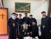 الكنيسة الأرثوذكسية تعلن تماثل أسقف نجع حمادى للشفاء