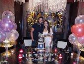 الكاتبة إنجى علاء تحتفل بعيد ميلاد زوجها يوسف الشريف:ربنا يحفظك ويخليك لينا