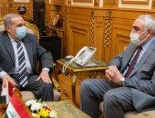 وزير الدولة للإنتاج الحربى يلتقى سفير العراق لمناقشة تعزيز سبل التعاون المشترك