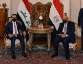 وزير الخارجية يبحث مع رئيس البرلمان العراقى سبل تعزيز ركائز الاستقرار الإقليمى