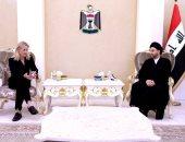 عمار الحكيم يبحث مع رئيسة بعثة الاتحاد الأوروبى الانتخابات العراقية المرتقبة