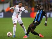 باريس سان جيرمان يتعادل 1 / 1 أمام كلوب بروج فى دورى أبطال أوروبا.. فيديو