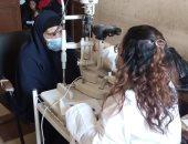 """الكشف والعلاج مجانا على 330 مواطنًا فى قافلة طبية ضمن """"حياة كريمة"""""""