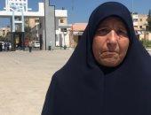 حكاية الحاجة سكينة.. 66 سنة ولسه بتكمل دراستها فى جامعة العريش (فيديو وصور)