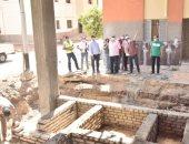 محافظ أسيوط يتفقد إنشاء مجمع الخدمات الحكومية بقرية الشامية فى ساحل سليم