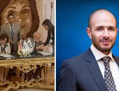 """صور.. الاحتفال بتوقيع بروتوكول تعاون بين جامعة مصر للعلوم والتكنولوجيا والمكتب الثقافي الإيطالي لتدريب طلاب """"طب الأسنان"""""""