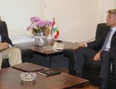 وزير الطاقة بلبنان يبحث مع سفير مصر آليات توريد الغاز لبيروت عبر الأردن وسوريا