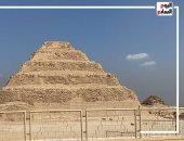 مقبرة الملك زوسر.. منحوتة فى الصخر على عمق 30 مترا تحت الأرض (فيديو)