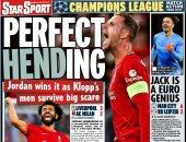 ريمونتادا ليفربول ضد ميلان وقتل ريال مدريد للإنتر أبرز عناوين صحف أوروبا