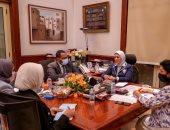 """وزيرة الصحة: يجب توثيق مبادرة رئيس الجمهورية """"100 مليون صحة"""" ضمن تقرير التنمية البشرية"""