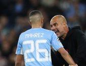 جوارديولا يكشف تفاصيل المشادة مع رياض محرز وجيريلش خلال مباراة لايبزيج