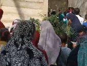 """الآلاف يقرأون الفاتحة أمام قبر الراحل محمود العربى فى أول جمعة بعد وفاته """"فيديو"""""""