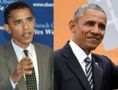 الطبيعى يكسب.. مشاهير فضلوا الشعر الرمادى عن الصبغة أبرزهم أوباما وجورج كلونى