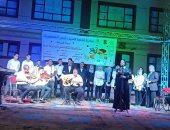 """ثقافة المنيا تواصل فعاليات المسرح المتنقل ضمن """"حياة كريمة"""" بقرية جريس"""