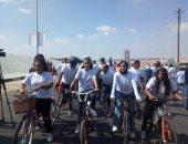 افتتاح مسار للدراجات بمدينة نصر بطول 6 كيلومترات.. صور