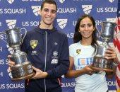 انطلاق منافسات الدور التمهيدى الأول ببطولة أمريكا المفتوحة للاسكواش