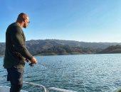 دوين جونسون فى رحلة صيد تزامناً مع تجهيزات فيلمه الجديد Black Adam