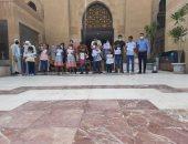 جولات وورش لأطفال ذوى الاحتياجات الخاصة فى متحف الفن الإسلامى.. صور