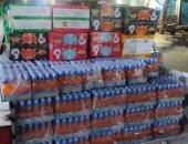 ضبط 4080 زجاجة عصير و2304 أكياس مقرمشات ضارة بصحة الأطفال فى حملة بالأقصر