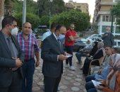 محافظ المنيا يكلف نائبه بمتابعة الحالة العامة بالمستشفيات ومراكز تلقى اللقاح