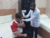 تلقى المواطنين للقاح كورونا داخل المراكز الصحية المتنقلة بأسيوط.. فيديو وصور