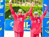بلغاريا تتصدر منافسات السباحة للتتابع المختلط ببطولة العالم للخماسى الحديث