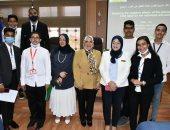 """تكريم الطلاب الفائزين فى مبادرة """"الباحث الصغير"""" بجامعة قناة السويس.. صور"""