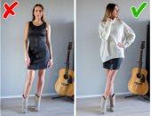 """5 أفكار لتنسيق ملابسك القديمة بطريقة جديدة.. """"البلوزة الأوفر سايز مع الفساتين"""""""