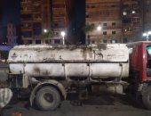 """ضبط سيارة محملة بـ6000 لتر زيت سيارات """"مرتجع"""" بغرض إعادة استخدامه بالإسكندرية"""